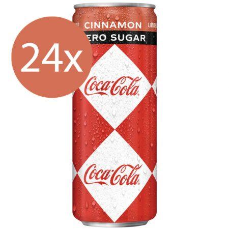 Coca Cola Zero Cinnamon 24 x 250ml - Voordeelverpakking
