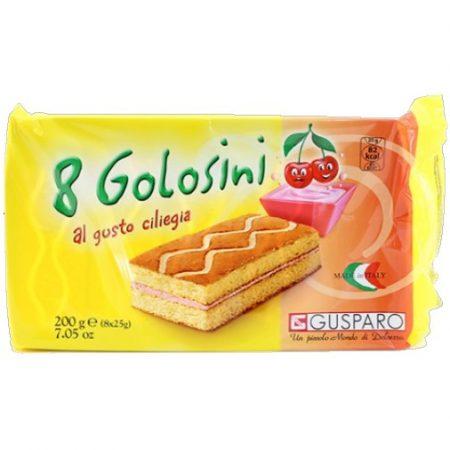 Gusparo Mini Cake – Met Kersenvulling – Apart verpakt – 200gr/8st