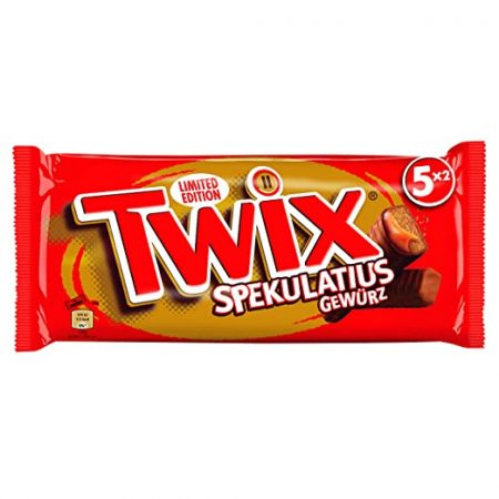 Twix Met Speculoos Limited Edition - Apart Verpakt 5x2 230g