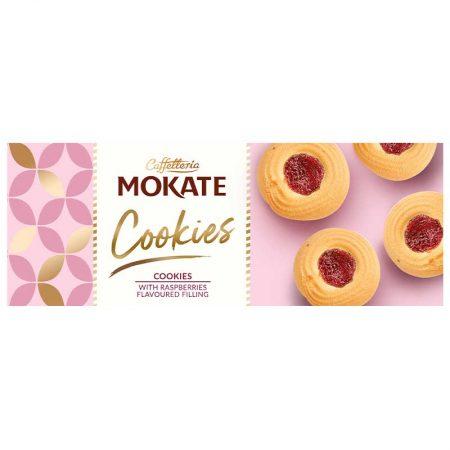 Mokate Cookies - Rings Met Framboosvulling 150g