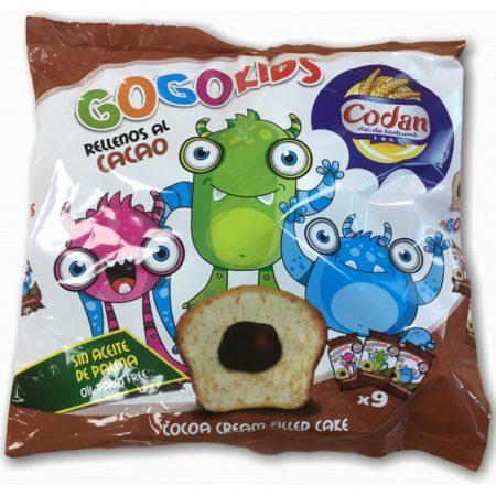 GoGo Kids Cake Met Cacaovulling - Apart Verpakt 225g