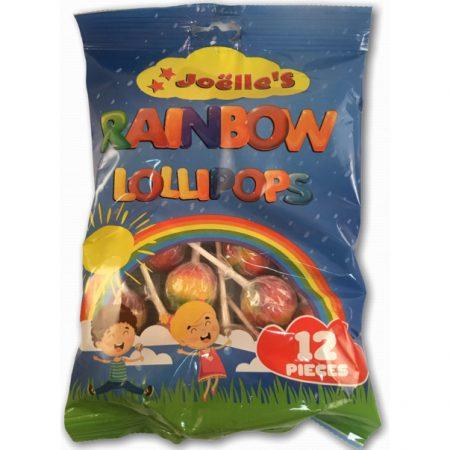 Rainbow Lollipops 12 stuks 300g