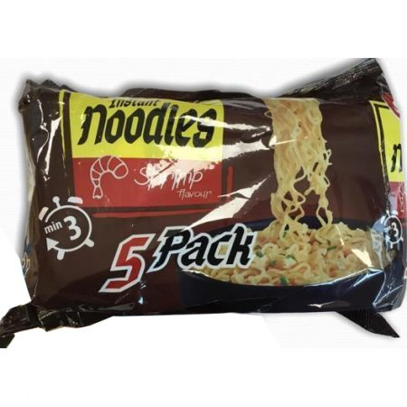 Instant Noodles – Shrimp – 5-Pack 5x68gr
