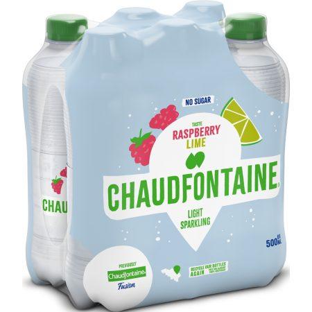Chaudfontaine Framboos & Limoen 6 x 500ml