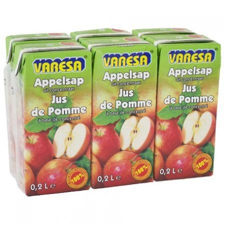 Varesa Appelsap 100% Sap 6 x 20cl