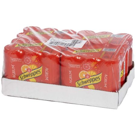 Schweppes Agrum 24 x 33cl - Voordeelverpakking