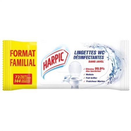 Harpic Desinfecterende Reinigingsdoekjes - 72 Stuks