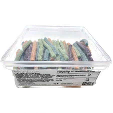 Sticks 4 kleuren 1kg