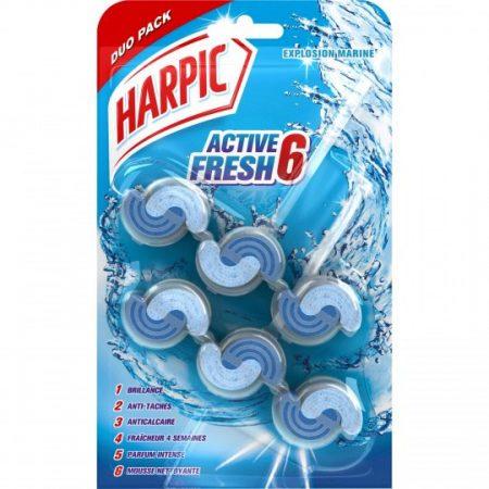Harpic WC-Hanger Active Fresh 6 Marine Explosie 2 x 39g