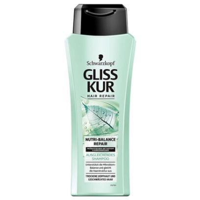 """Gliss Kur Shampoo """"Nutri-Balance Repair"""" 250ml"""