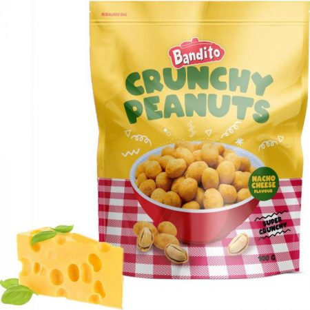 Bandito Crunchy Peanuts Nacho Cheese 100g