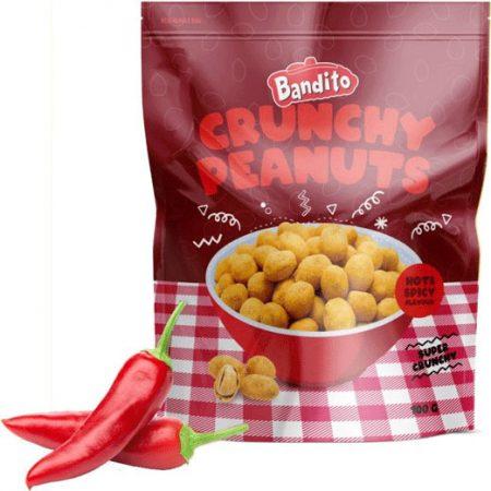 Bandito Crunchy Peanuts Hot & Spicy 100g