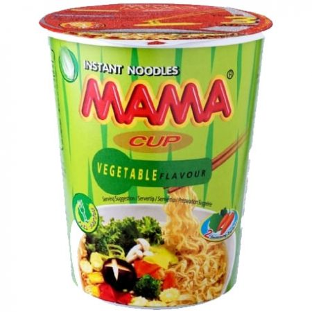 Mama Cup Instant Noodles Groentesmaak 70g