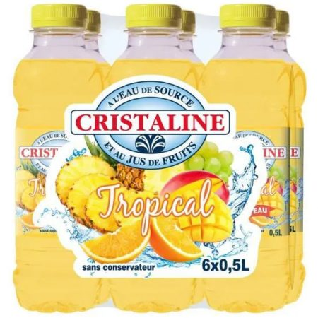 Cristaline Water Tropical 6 x 50cl