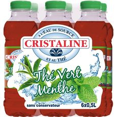 Cristaline Water Munthee 6 x 50cl