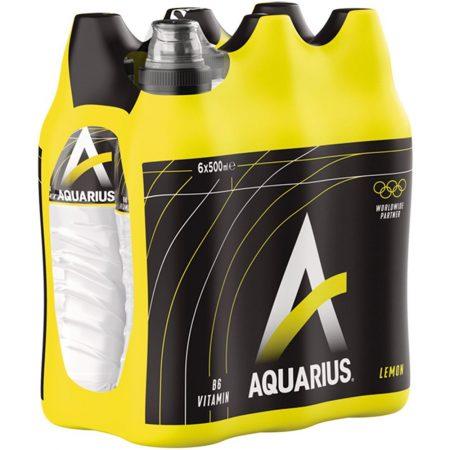 "Aquarius ""Lemon"" 6 x 500ml"