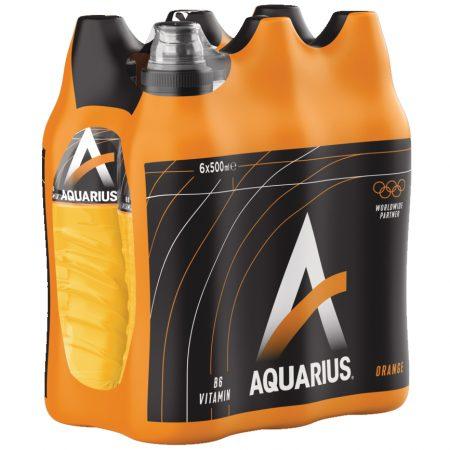"""Aquarius """"Orange"""" 6 x 500ml"""