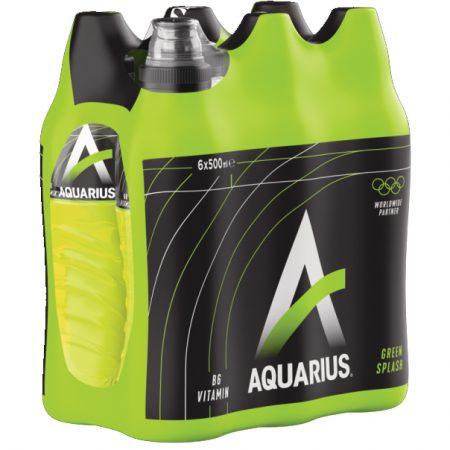 """Aquarius """"Green Splash"""" 6 x 500ml"""