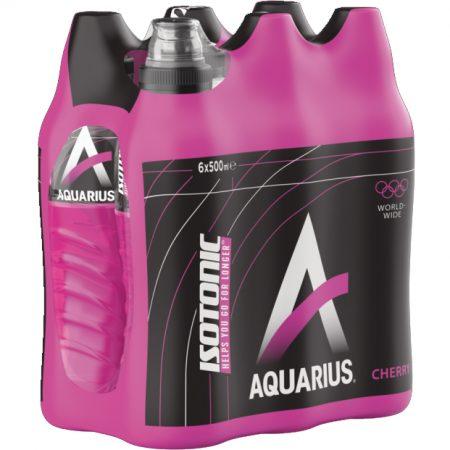 """Aquarius """"Cherry"""" 6 x 500ml"""