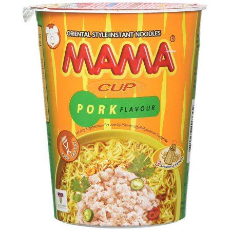 Mama Cup Instant Noodles Varkensvleessmaak 70g