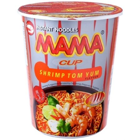 Mama Cup Instant Noodles Scampi Tom Yum Smaak 70g