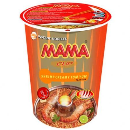 Mama Cup Instant Noodles Scampi Creamy Tom Yum Smaak 70g