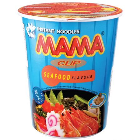 Mama Cup Instant Noodles Zeevruchtensmaak 70g
