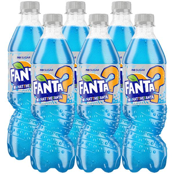 #WhatTheFanta? No Sugar 6 x 500ml