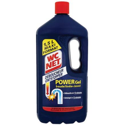 WC Net Ontstopper Soda + Javel 1,5L