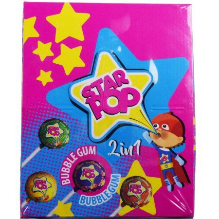 Star Pop Bubblegum Lolly's 80 x 24g