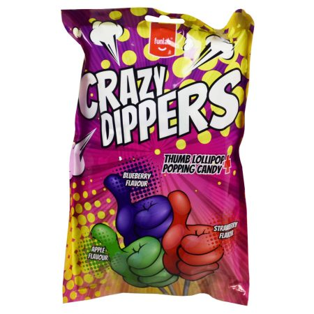 Funlab Lolly's Crazy Dippers 6 x 10g