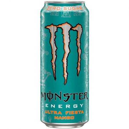 Monster Energy Ultra Fiesta Mango Zero Sugar 500ml