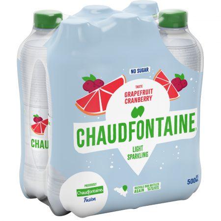 Chaudfontaine Pompelmoes & Veenbessen 6 x 500ml