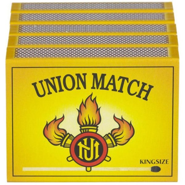 Union Match Lucifers Kingsize 5x60 Stuks