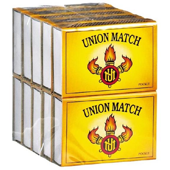 Union Match Lucifers Pocketsize 10x40 Stuks