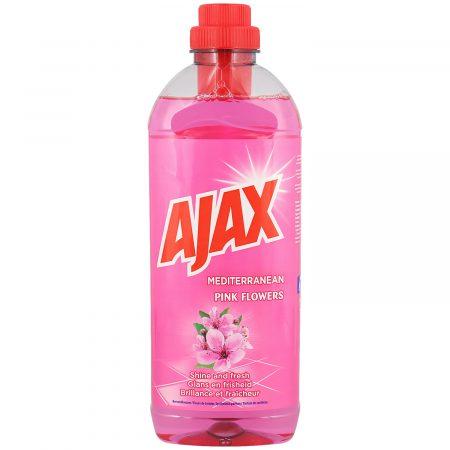 Ajax Allesreiniger Mediterranean Pink Flowers 1L