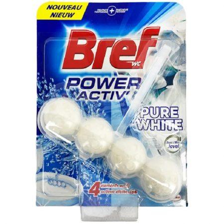 Bref wc hanger Pure White 50g