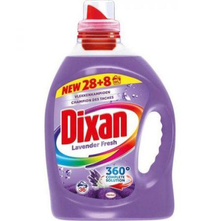 Dixan vloeibaar wasmiddel 36wasb/ 2.376l lavendel