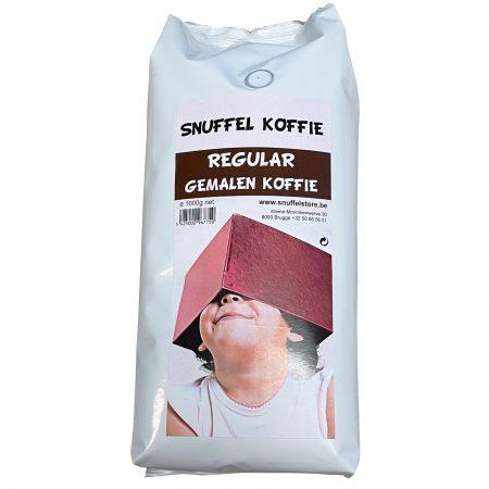 Snuffelkoffie Gemalen Regular 1kg