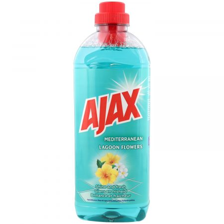 Ajax Allesreiniger Mediterranean Lagoon Flowers 1L