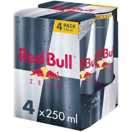 Red Bull Zero 4x250ml