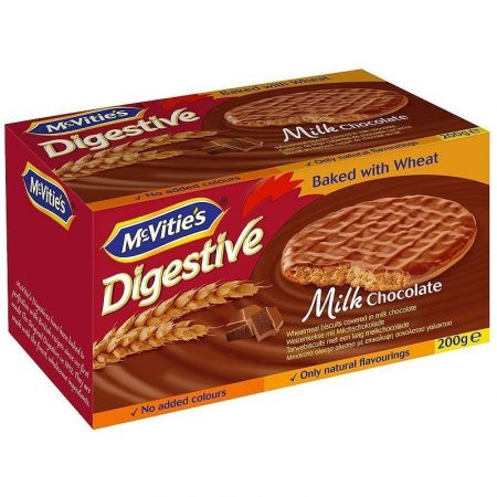 Mc Vities Digestive Melkchocolade 200g