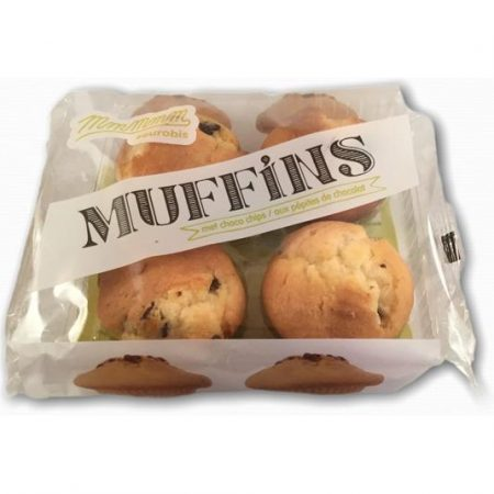Muffins met choco chips 220g