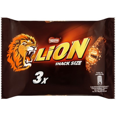 Lion Snack Size 3 x 30g