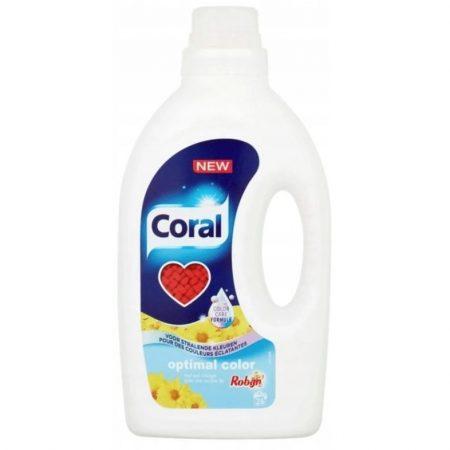Coral Wasmiddel Optial Color Met Robijn 26wasb/1,25L