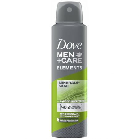 Dove Men + Care Deodorant Elements Minerals+Sage 150ml
