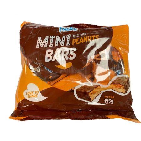 Fundiez Mini bars Filled With Peanut 195g