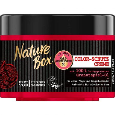 Nature Box Haarcrèmekleur bescherming 200ml Grantaatappel Olie