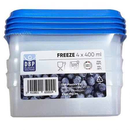 Diepvries Doosjes 4 x 400 ml