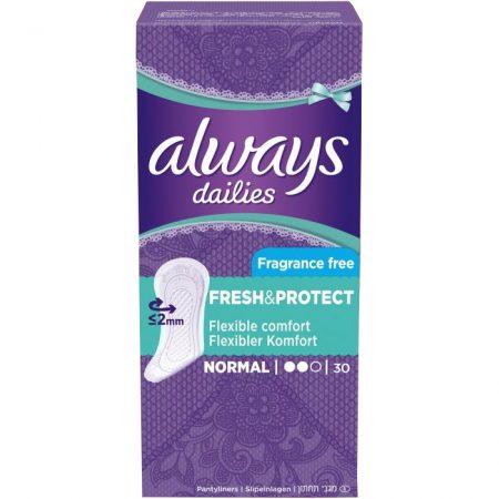 Always Dalies Fresh & Protect 30 Stuks